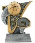 Value Line Basketball Award Basketball Trophies