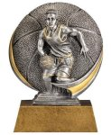 Basketball 3D Motion Trophy (Male) Basketball Trophies