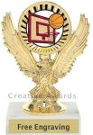 Eagle Basketball Trophy Basketball Trophies