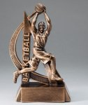Ultra Action Basketball Trophy (Female) Basketball Trophies