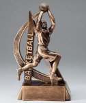 Ultra Action Basketball Trophy (Male) Basketball Trophies