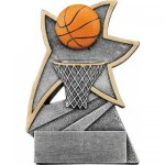 Basketball Jazz Star Resin Basketball Trophies