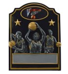 Basketball Trio Award (Female) Basketball Trophies
