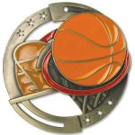 Color Basketball Medal Basketball Trophies