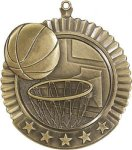 5 Star Basketball Medal Basketball Trophies