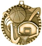 Victor Basketball Medal Basketball Trophies