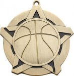 Super Star Basketball Medal Basketball Trophies