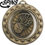 Spinner Basketball Medal Basketball Trophies