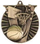 Victory Basketball Medal Basketball Trophies