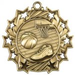 Ten Star Basketball  Medal Basketball Trophies