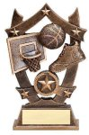 Stars Basketball Trophy Basketball Trophies