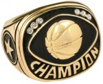 Basketball Champion Ring Basketball Trophies