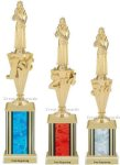 First - Third Place Beauty Pageant Trophies 4 Beauty Pageant Trophies