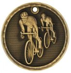 3D Bicycling Medal Bicycling Medals
