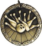 Wreath Bowling Medal Bowling Medals