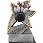 Bowling Jazz Star Resin Bowling Trophies