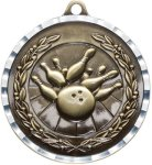 Diamond Cut Bowling Medal Bowling Trophies