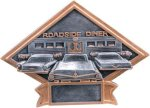 Car Show Diamond Plate Resin Car Show Trophies