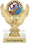 Eagle Cheer Trophy Cheerleading Trophies