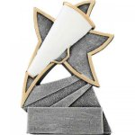 Cheer Jazz Star Resin Cheerleading Trophies