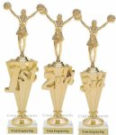 Place Cheer Trophy Cheerleading Trophy Awards
