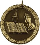 Wreath Christian Bible Medal Christian Medals