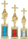 First - Third Place Christian Trophies 4 Christian Trophies