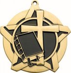 Super Star Christian Medal Christian Trophies
