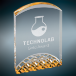 Horizon Gold Acrylic Award Clear Acrylic Awards