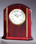 Rosewood Desk Clock Clocks - Desk