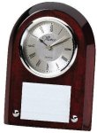 Rosewood Promotional Clock Clocks - Desk