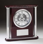 Rosewood Clock Clocks - Desk