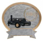 Legend BBQ Grill Oval Award Cooking Trophies