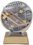 3D Motion Corn Hole Trophy Corn Hole Trophies