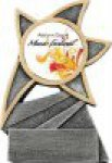 Insert Holder Jazz Star Resin Dance Trophies