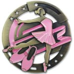 Color Ballet Medal Dance Trophies