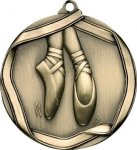 Ribbon Ballerina Medal Dance Trophies