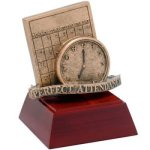 Perfect Attendance Resin Dance Trophies