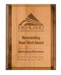 Genuine Red Alder Plaque Direct Engraved Wood Plaques