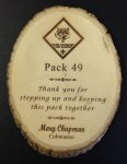 Natural Basswood Plaque Direct Engraved Wood Plaques