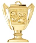 Trophy Cup Drama Medal Drama Medals