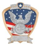 Signature Series Navy Shield Award Eagle Trophies