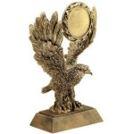 Eagle W/ 2 Ins Holder Resin Eagle Trophies