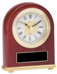 Classic Rosewood Clock Employee Awards