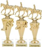 First-Third Place Equestrian Award Equestrian Trophies