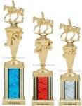 First-Third Place Equestrian Trophies Equestrian