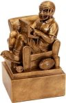 Armchair Quarterback Fantasy Football Award Fantasy Football Trophies