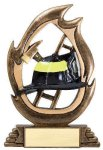 Flame Series Fireman Fire and Safety Trophies