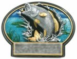 Burst Thru Fishing Trophy Fishing Trophies