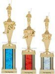 First-Third Place Fishing Trophies Fishing Trophies